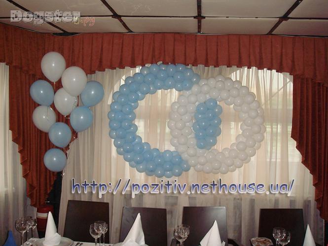 Оформление воздушными шарами фото своими руками